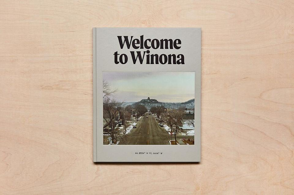 Ryder's book, soon available for sale on Squarespace's welcometowinona.com | Courtesy SquareSpace