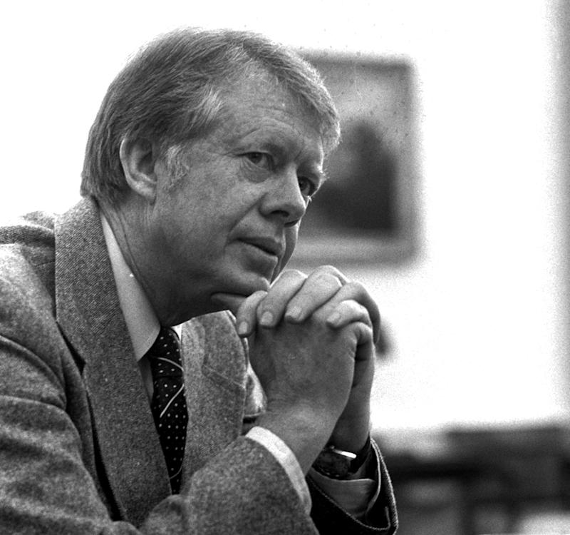 President Jimmy Carter has remained active since his time in Oval Office in the 1970s.