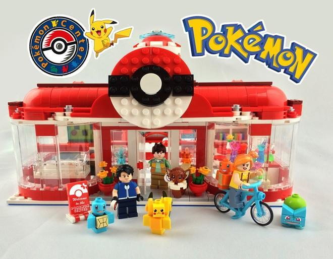 This Epic Lego Pokemon Center Set Is Not Going To Happen - roblox pokemon go tycoon build red charmanders