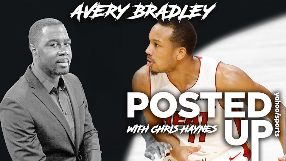 Miami Heat G Avery Bradley joins Posted Up with Chris Haynes to discuss his decisions to opt-out of the 2020 playoff bubble, leave the Los Angeles Lakers and more. (Getty Images/Yahoo Sports)