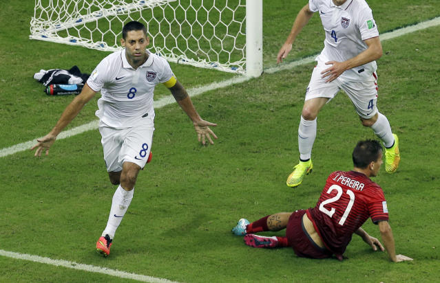 Clint Dempsey gives United States a 2-1 lead over Portugal with huge goal (Video)