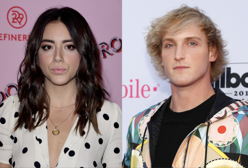 Chloe Bennet confirmed her relationship with YouTuber Logan Paul.