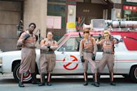 "<p>Nothing can ever compete with the original 1980s <em>Ghostbusters</em> franchise, of course. So when you watch this 2016 all-female reboot, just think of it as its own thing. Leslie Jones, Melissa McCarthy, Kristen Wiig, and Kate McKinnon are a comedy foursome that deserve your full attention and appreciation.</p> <p><a href=""https://www.amazon.com/Ghostbusters-Melissa-McCarthy/dp/B01I039GVW"" rel=""nofollow noopener"" target=""_blank"" data-ylk=""slk:Available to rent on Amazon Prime"" class=""link rapid-noclick-resp""><em>Available to rent on Amazon Prime</em></a></p>"