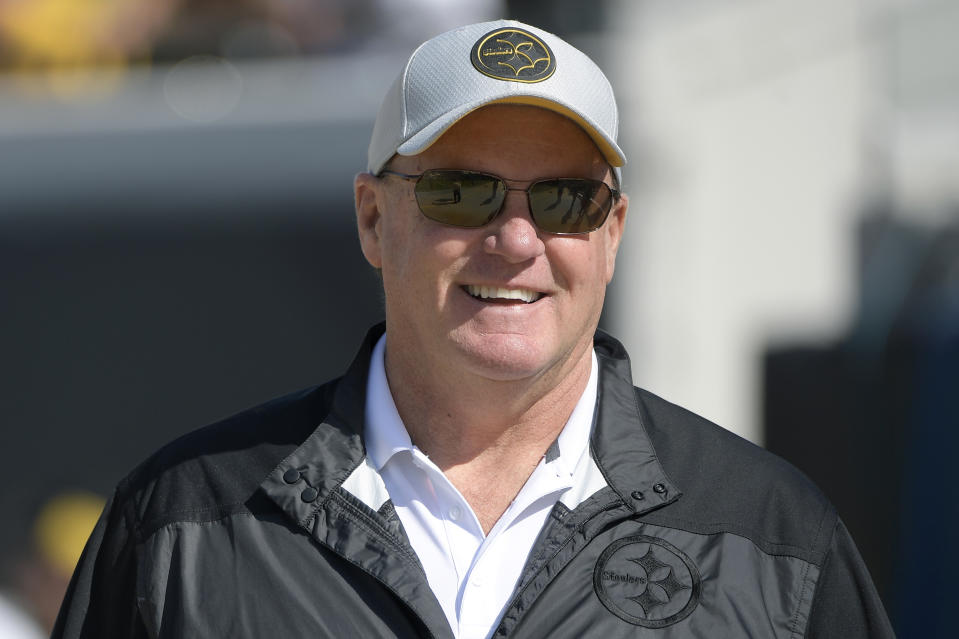 Pittsburgh Steelers general manager Kevin Colbert has rediscovered his talent-evaluation touch in recent NFL drafts. (AP Photo/Phelan M. Ebenhack)
