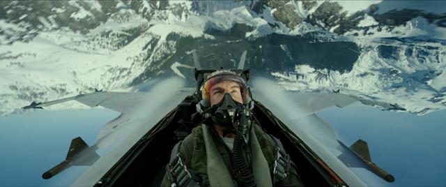 """Tom Cruise plays Capt. Pete """"Maverick"""" Mitchell in Top Gun: Maverick from Paramount Pictures, Skydance and Jerry Bruckheimer Films."""