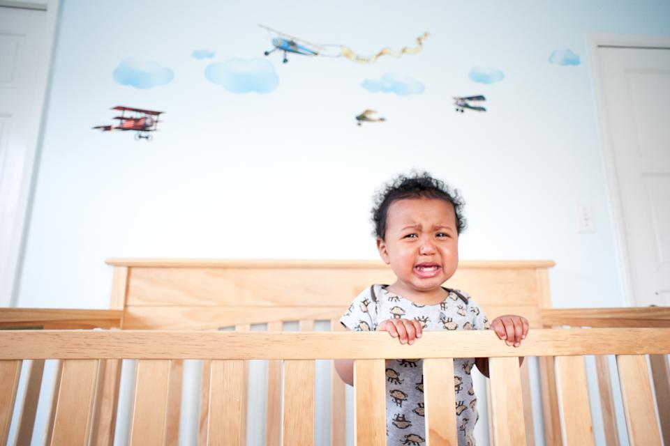 Sleep consultant Becca Campbell says some toddlers are having poor sleep because they're not getting enough stimulation during the day. (Photo: Getty Images stock)