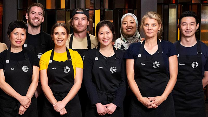 MasterChef 2020 contestants including Poh Ling Yeow, Laura Sharrad and Reynold Poernomo who Courtney Roulston picks for top three. Photo: Ten