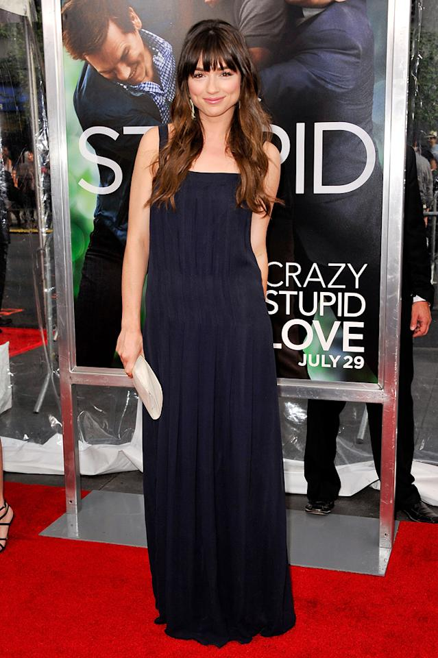 "<a href=""http://movies.yahoo.com/movie/contributor/1810186276"">Crystal Reed</a> at the New York City premiere of <a href=""http://movies.yahoo.com/movie/1810157025/info"">Crazy, Stupid, Love</a> on July 19, 2011."