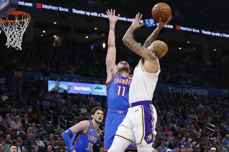 Lakers top Thunder 125-110 without LeBron, Anthony  Davis