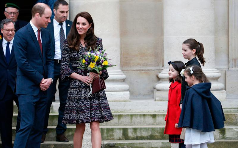 Duke and Duchess of Cambridge - Credit: AFP/AFP