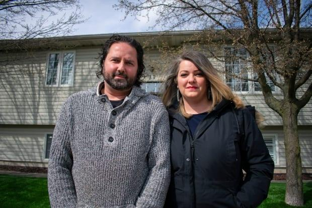 Carla Vanderdeen-Fenech and her husband, Philip, say they're coming forward with their homebuying experience to help others avoid the same issue. (Bobby Hristova/CBC - image credit)