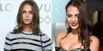 <p>Academy Award-winning actress Alicia Vikander knows how to play up a chic red carpet look, and that's usually with a demure smile. </p>