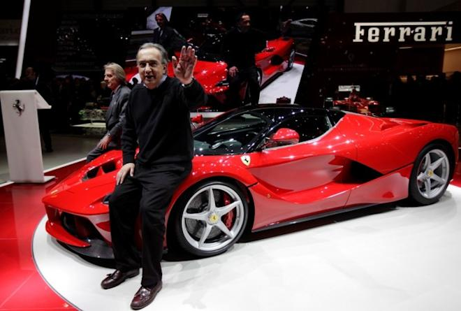 Ferrari Chairman and CEO Sergio Marchionne