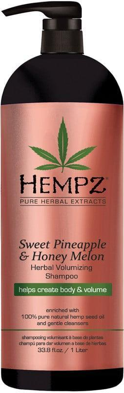 <p>Not only does the <span>Hempz Sweet Pineapple &amp; Honey Melon Herbal Volumizing Shampoo</span> ($15) smell heavenly, but the hemp oil within the formula also deeply hydrates hair.</p>