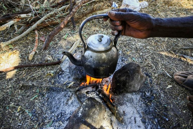 For camp refugees who currently number 10,000, the main concern is to have a roof over their heads and wood for cooking