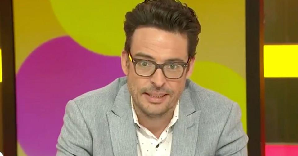 Joe Hildebrand has been slammed over a 'tone deaf' Covid rant on Twitter. Photo: Channel 10.