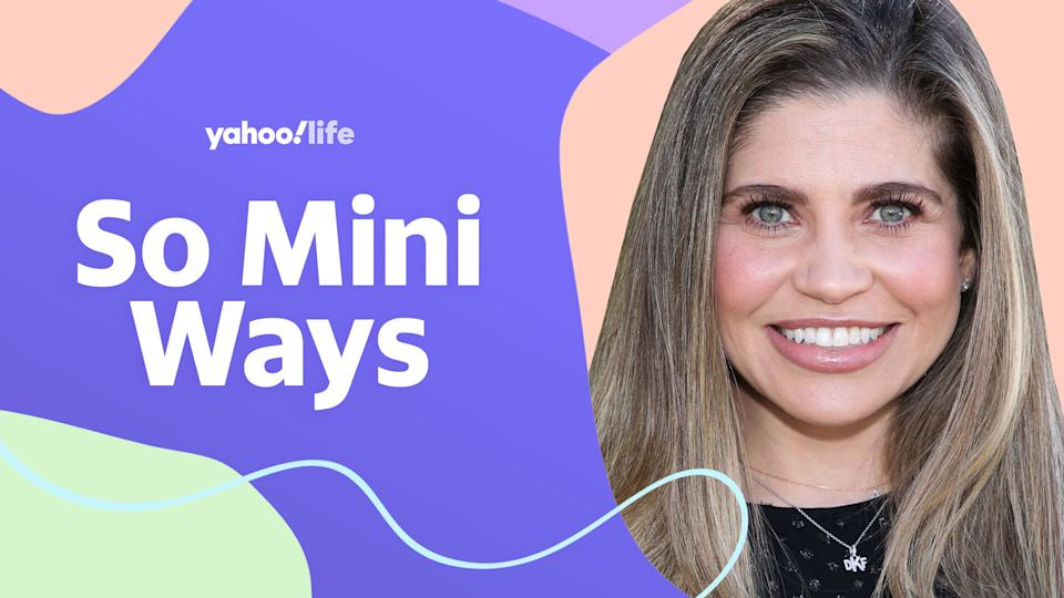 Danielle Fishel on parenting a toddler and being pregnant at 40. (Photo: Getty; designed by Quinn Lemmers)