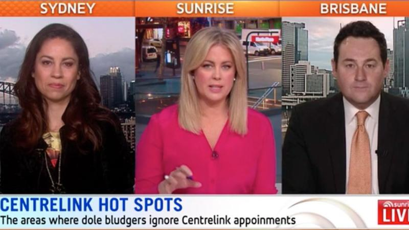 The Sunrise Hot Topics panel agreed harsher penalties need to be introduced to deter doll bludgers. Source: Sunrise