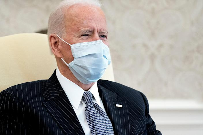 <p>Mr Biden continues to resist Republican pressure </p> (Getty Images)