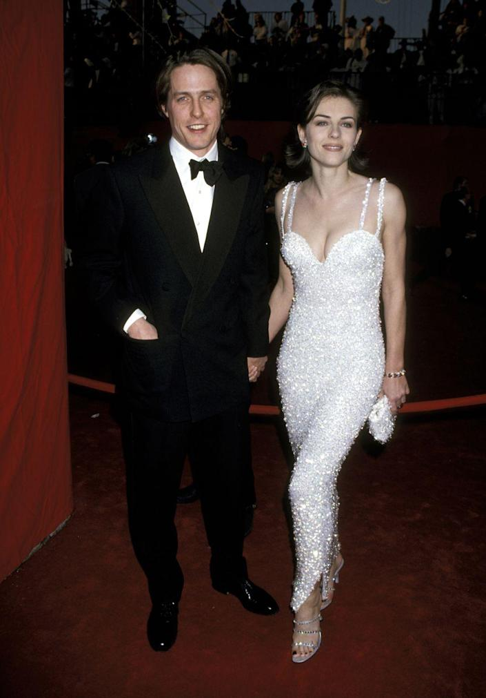 <p>Another event the actress attended in 1995: The 67th Annual Academy Awards wearing (who else?) Versace. This look is pure '90s gold.</p>