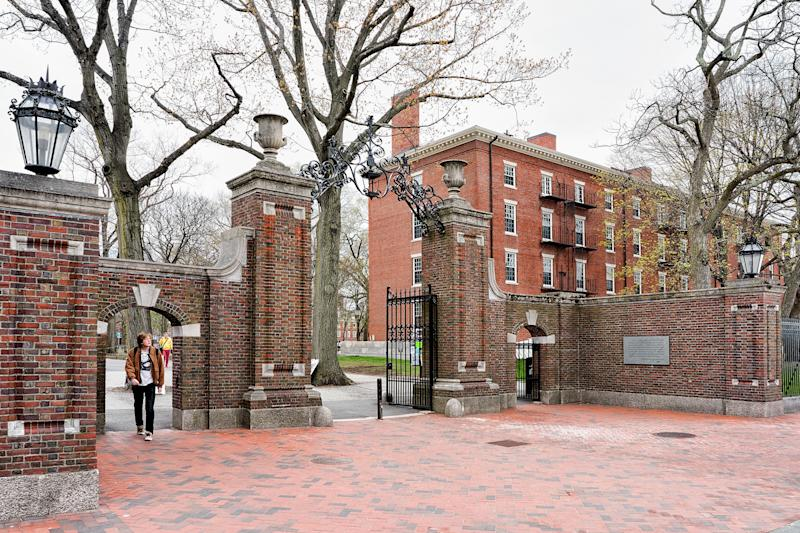 Harvard University is accused of discriminating against Asian-American applicants by conservative advocate Edward Blum. That lawsuit will head to trial in October. (RomanBabakin via Getty Images)