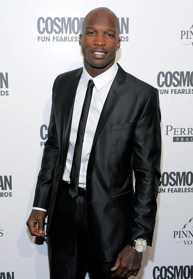 Chad Ochocinco attends Cosmopolitan Magazine's Fun Fearless Males Of 2011 at The Mandarin Oriental Hotel on March 7, 2011 in New York City. (Photo by Jemal Countess/Getty Images)
