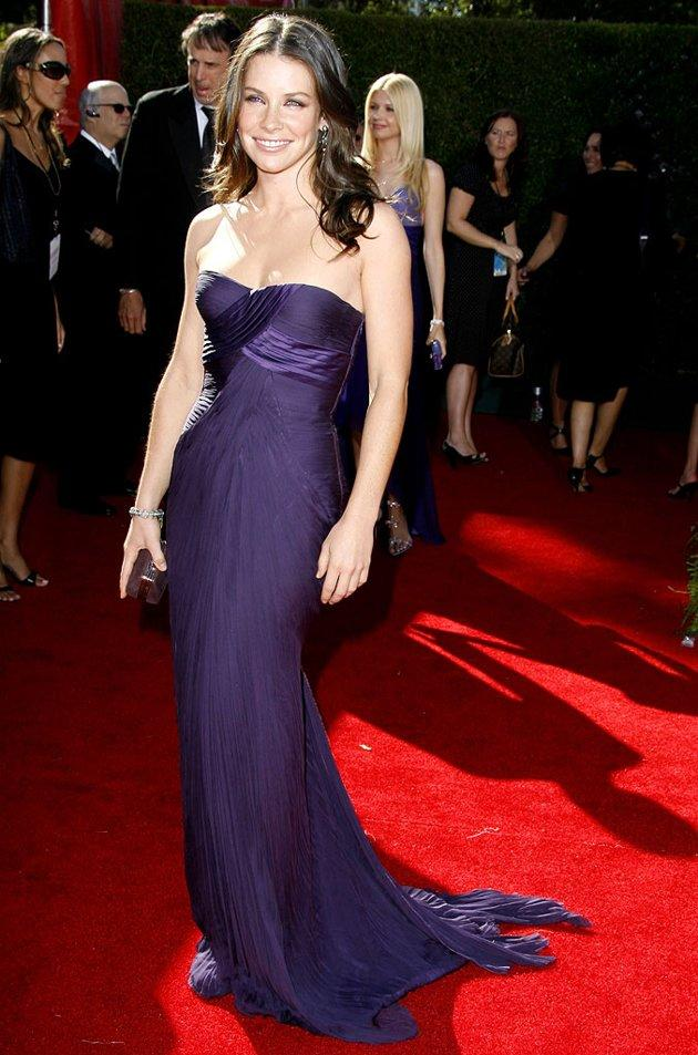BEST: Evangeline Lilly at the 58th Annual Primetime Emmy Awards in Los Angeles, California on August 27, 2006.