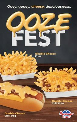 Ooze Fest has arrived at Hamburger Stand! We poured our new yummy, ooey-gooey cheese sauce on three of your faves. Available now for a limited time only.
