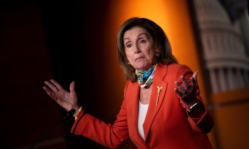 Nancy Pelosi will announce the plan on Tuesday.