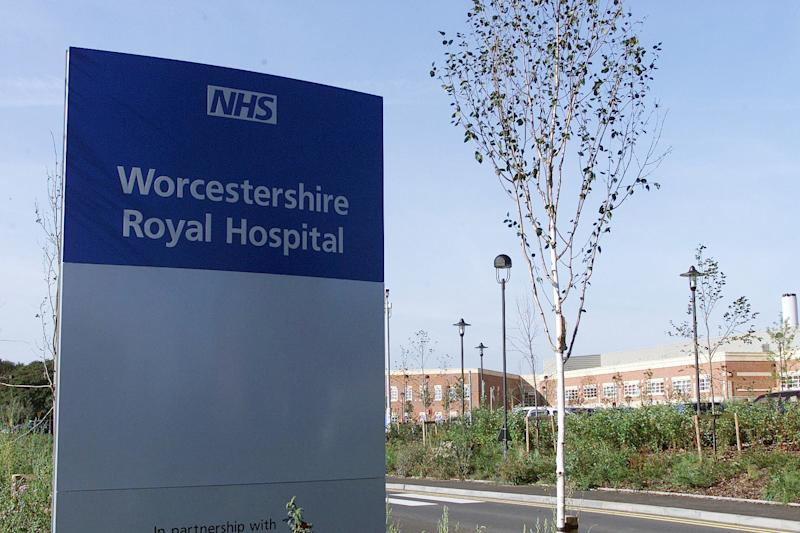 The new Worcestershire Royal Hospital in Worcester, where a pregnant mother who had been in labour for 16 hours was sent home and told to take an aspirin, her family claimed. * The family of Ruth Elliker-Cole said Worcestershire Royal Hospital's failure to admit her to their maternity unit had caused the stillborn birth of her son.