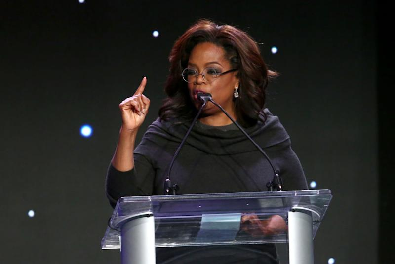 Oprah Winfrey speaks at Save The Children's Centennial Celebration: Once in a Lifetime at the Beverly Hilton Hotel on Oct. 2 in Beverly Hills, Calif. (Photo: Tommaso Boddi/Getty Images for Save the Children)