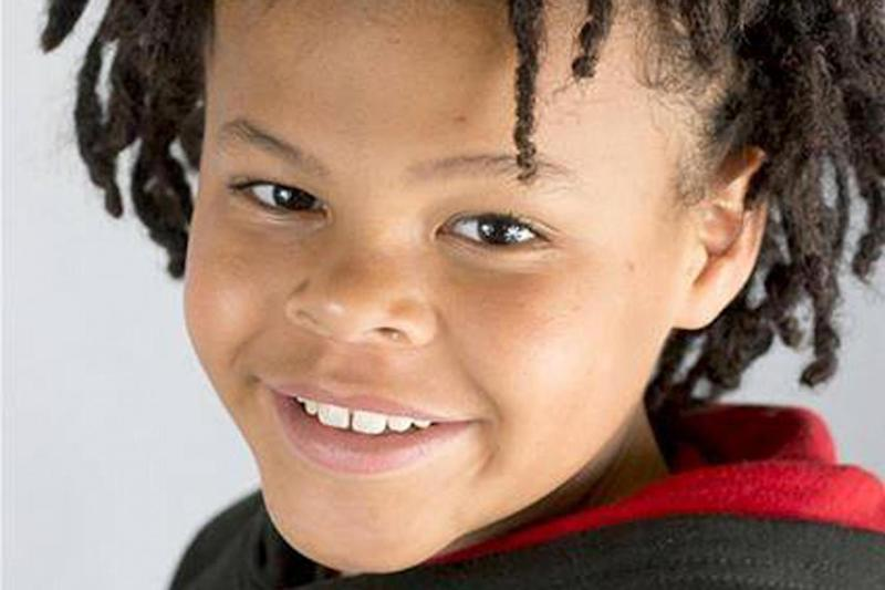 Makayah McDermott was killed when a stolen car mounted the pavement and hit him