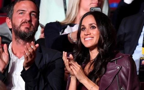 Markus Anderson and Meghan Markle at the opening ceremony of the Invictus Games in Toronto in September - Credit:  Samir Hussein/ WireImage