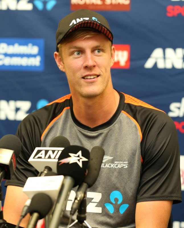 New Zealand's Jamieson seizes opportunity against India