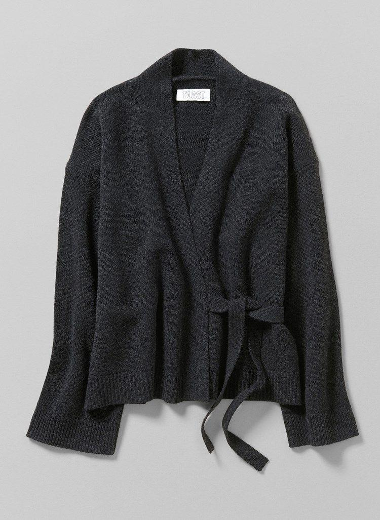 "<p><strong>TOAST</strong></p><p>toa.st</p><p><strong>$340.00</strong></p><p><a href=""https://www.toa.st/us/product/womens+knitwear/capbe/cashmere+kimono+wrap+cardigan.htm?clr=CAPBE_Charcoal_sw"" rel=""nofollow noopener"" target=""_blank"" data-ylk=""slk:Shop Now"" class=""link rapid-noclick-resp"">Shop Now</a></p>"