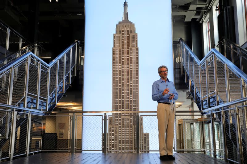 Empire State building prepares to reopen to visitors and tenants following outbreak of the coronavirus disease (COVID-19) in New York