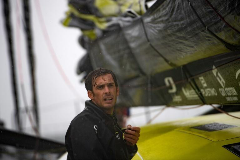 French skipper Charlie Dalin is back in the lead of the Vendee Globe but only just