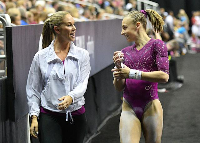 Maggie Haney reportedly instructed gymnasts to remove casts so they could keep training. (Denny Medley-USA TODAY Sports)