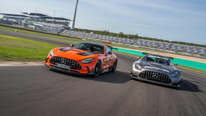 2021 Mercedes-AMG GT Black Series action front