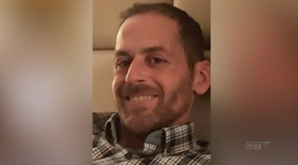 Martin Carpentier is pictured. His daughters, Romy and Norah, were found dead after they were last seen alive with him on July 8.