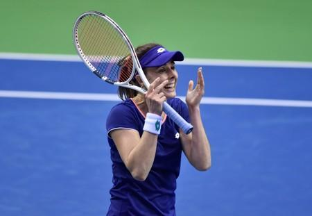 Fed Cup World Group - First Round - Belgium v France