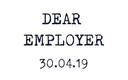 Today is 'Dear Employer' Day