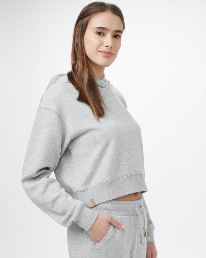 Cropped TreeFleece Hoodie (Photo via Tentree)