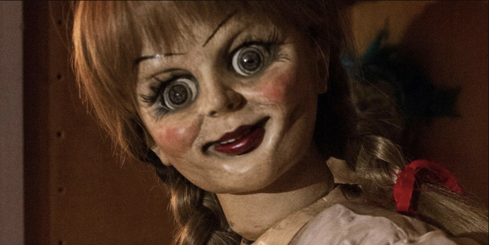 Annabelle's ready for her close up in Annabelle Creation (credit: Warner Brothers)