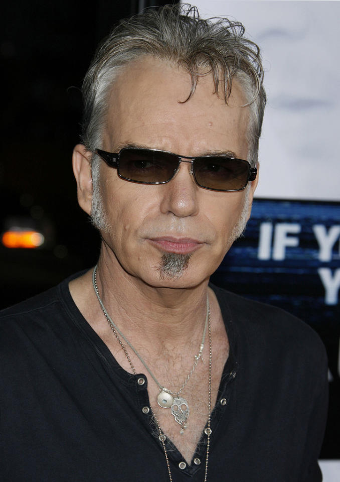 "<a href=""http://movies.yahoo.com/movie/contributor/1800018605"">Billy Bob Thornton</a> at the Los Angeles premiere of <a href=""http://movies.yahoo.com/movie/1809955918/info"">Eagle Eye</a> - 09/16/2008"