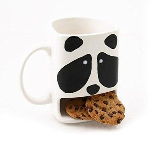 <p>How adorable is this<span>Panda Dunk Mug</span> ($18)!? You can drink your favorite hot coco with yummy cookies.</p>