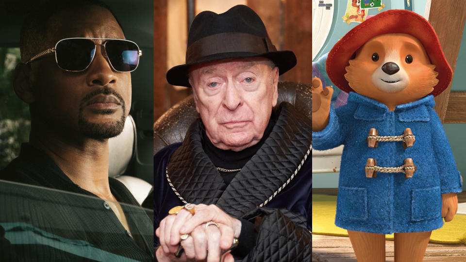 'Bad Boys for Life', 'Twist' and 'The Adventures of Paddington'. (Credit: Sky Cinema/NOW TV)