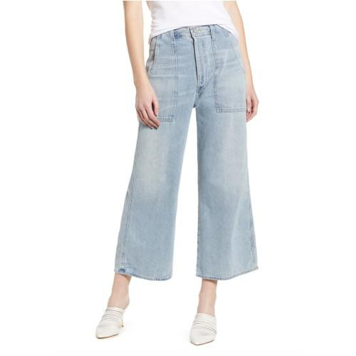 Eva Utility Crop Wide Leg Jeans. (Photo: Nordstrom)