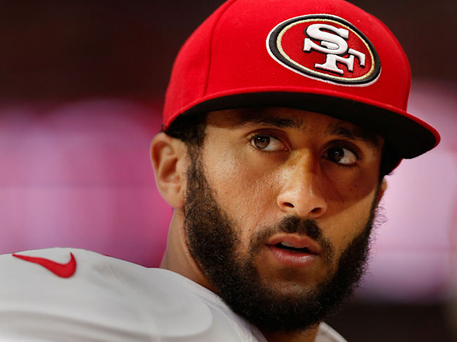 Colin Kaepernick says he's received death threats