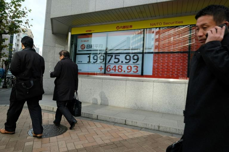 Tokyo's Nikkei index has lost more than 10 percent this year